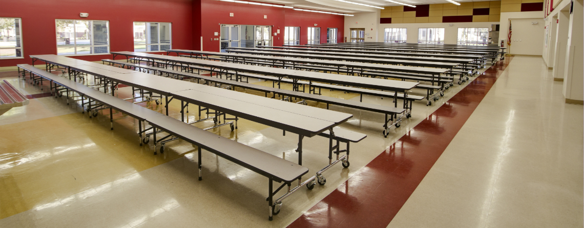 Cafeteria Tables: A Hazard Hiding in Plain Sight?